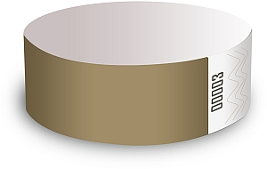 Gold Paper Wristbands