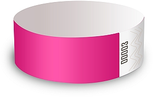 Pink Paper Wristbands