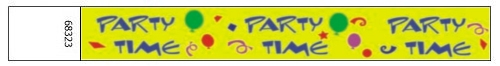 Party time Design Paper Wristbands