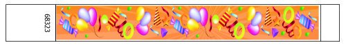 Party Streamers Design Tyvek Wristbands