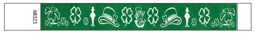 Saint Patrick's Day Design Tyvek Wristbands