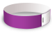 Purple Litter Free Tyvek Wristbands