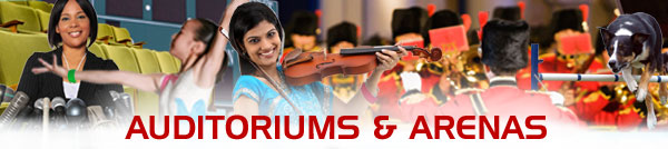 Auditoriums and Arena Events