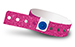 Neon Pink Plastic Sparkle Wristbands