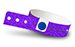 Purple Plastic Sparkle Wristbands