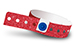 Red Plastic Sparkle Wristbands