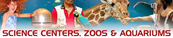 Science Center Zoos Aquarium Events