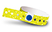 Yellow Plastic Sparkle Wristbands